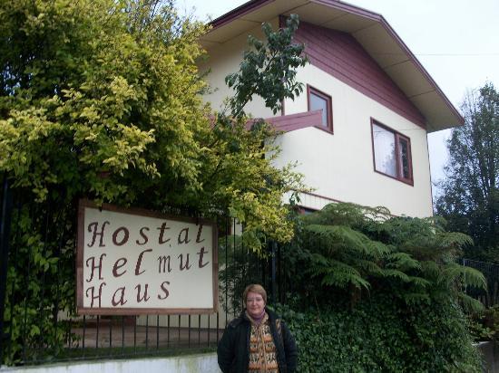 hostal helmut haus: Fachada