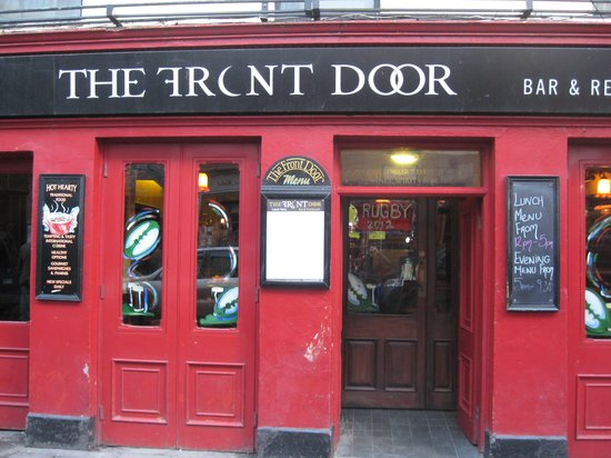 The Front Door Picture Of The Front Door Sonnys Bar And