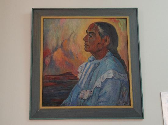 Casa Urquiaga (Casa Calonge): Pintura exposta na Casa Urquiaga...