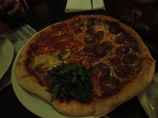La Pizzeria: Delicious pizza