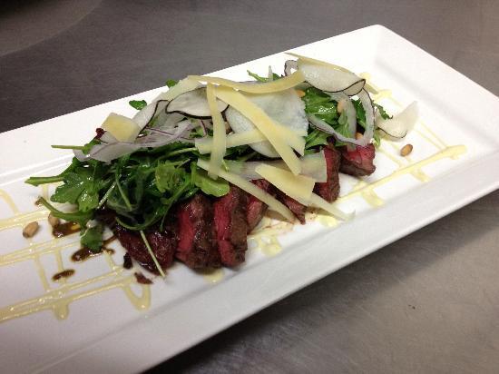 Cibo Ristorante Italiano: Grilled Flat Iron Steak