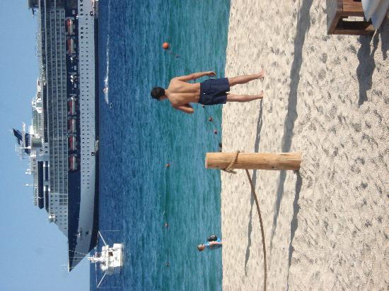 Positano Hotel: medano beach at just 100 meters by hotel
