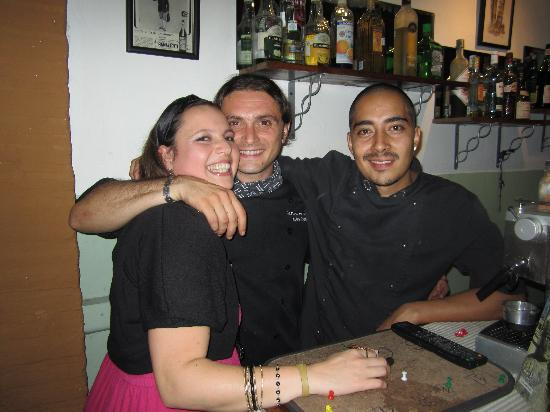 Boccon di Vino: very friendly!!! cool people & place