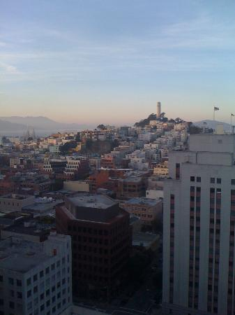 Le Meridien San Francisco: View from the studio suite on the 23rd floor