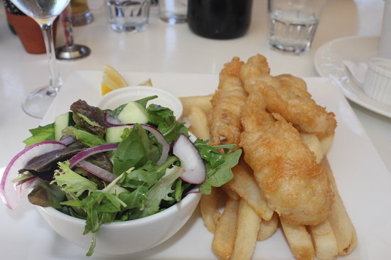 Eat at Whalers restaurant: The mulloway