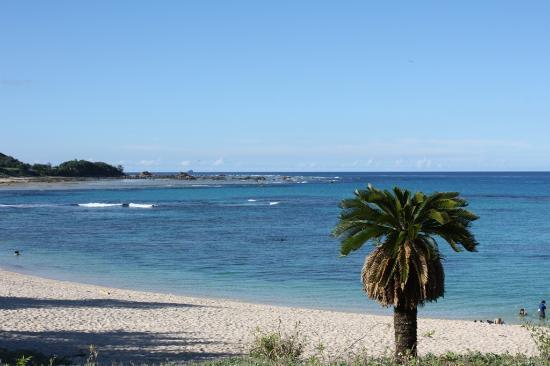 Tomori Beach : 土盛海岸と太平洋