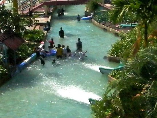 Semanggol, Malezja: water theme park