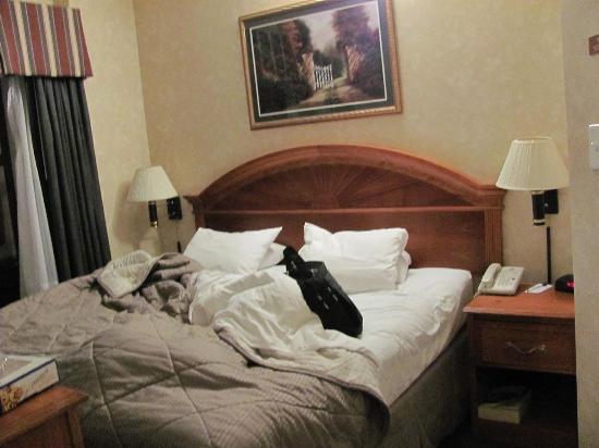 Heritage Hotel New York City: quarto casal, com quarto dos filhos e banheiro adjacente