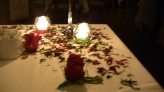 Excellence Playa Mujeres: CENA ROMANTICA