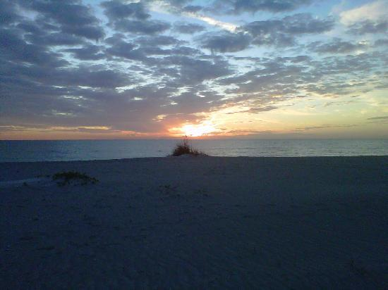 The Diplomat Condominium Beach Resort: Sunset view - God's Beauty