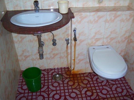 Shree Damodar Regency: the bathroom