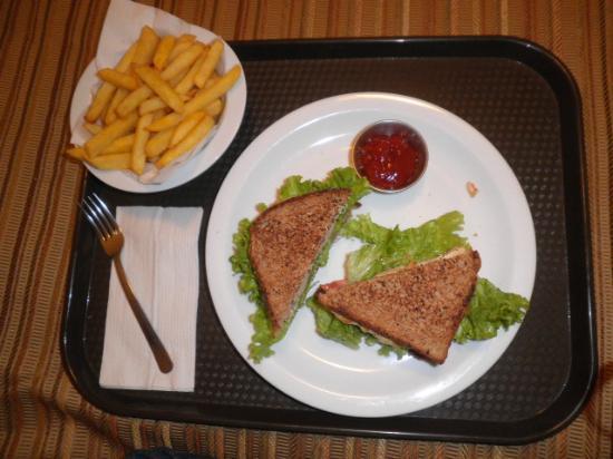 Morrison Hotel de la Escalon: su comida... de chuparse los dedos!