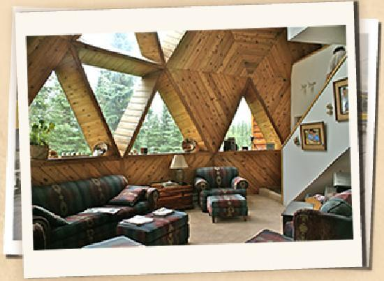 Denali Dome Home Bed and Breakfast: Just another common area for guests to enjoy.
