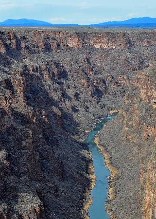Casa Europa Inn and Gallery: The Rio Grande Gorge (shot from the bridge)