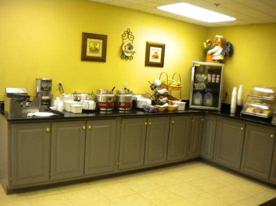 Baymont Inn and Suites Chattanooga: Breakfast Selection