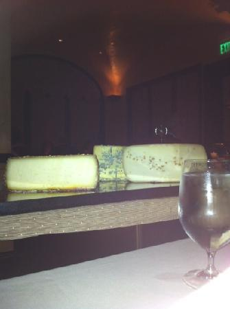 Cyrus Restaurant : cheese course