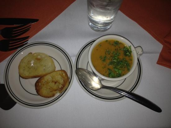 Texas : Sweet Potato Jalapeño Soup