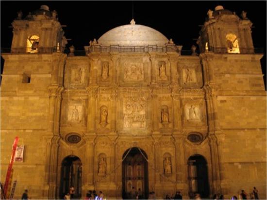Cathedral of Oaxaca: Catedral de Oaxaca.