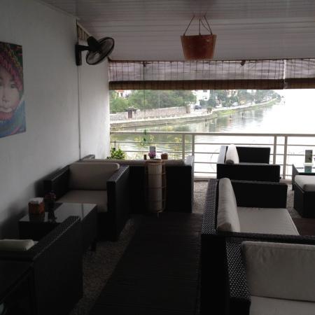 OCHAO Tea House: terraza exterior
