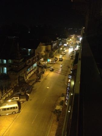 Salana Boutique Hotel: Nightview from my room