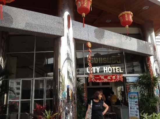 City Hotel: Entrée principale