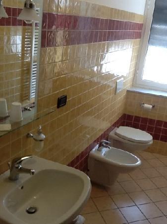 Hotel Chopin: bagno