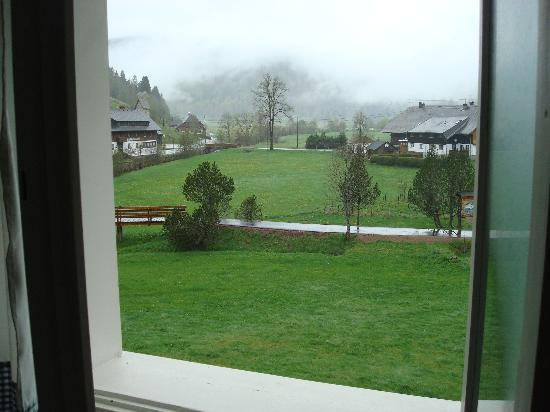 Gastehaus Grunenberg: Out our bathroom window