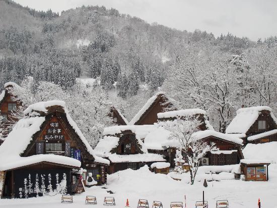 The Historic Villages of Shirakawa-go Traditional Houses in the Gassho Style: Shirakawago