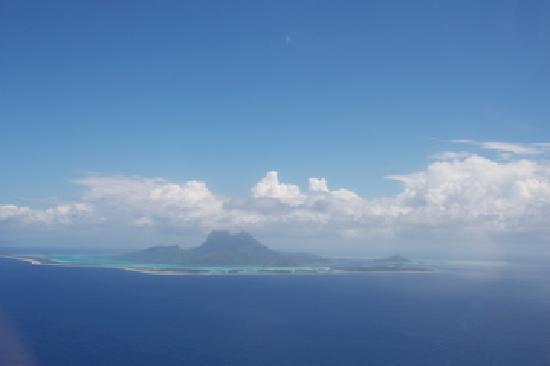 Tahiti-Helicopters: bora bora