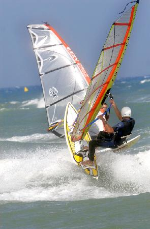 Hotel du Port : windsurf canet