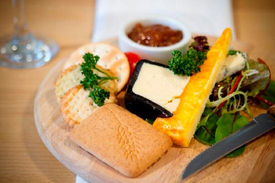 West Wittering, UK: Cheese board
