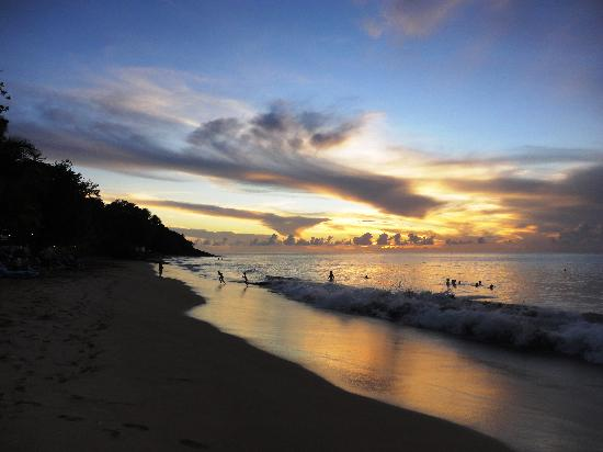 Langley Resort Hotel Fort Royal Guadeloupe : Wonderful sunset