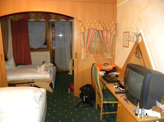 Hotel 3 Sonnen: The room