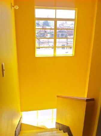 Hotel Casa Guadalupe: escalera