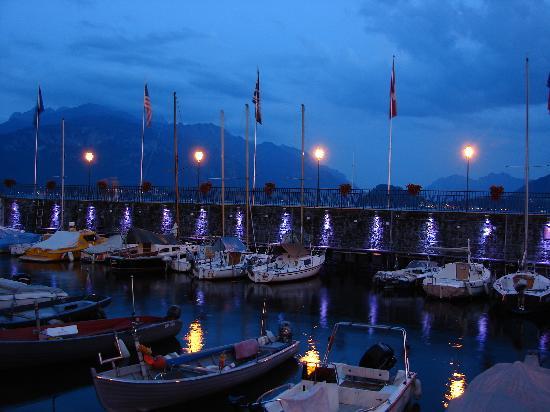 Camping ai Colli Fioriti: notturno, lago di Como