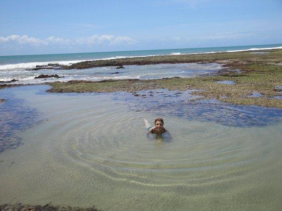Itacimirim Beach: Piscina natural