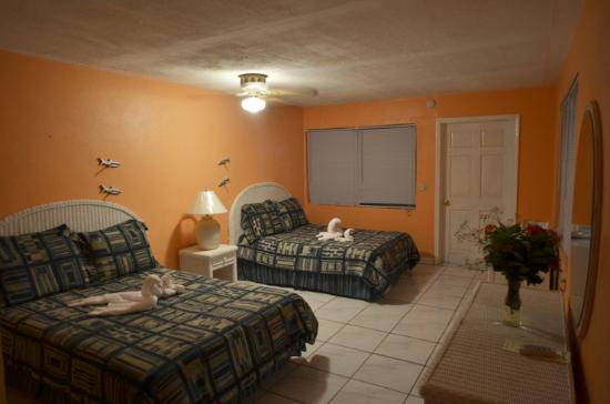 Andros Island Bonefishing Club: Nice, clean rooms with plenty of room for your gear.