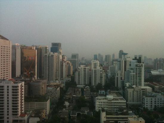 Jasmine City Hotel: ホテル部屋からの風景