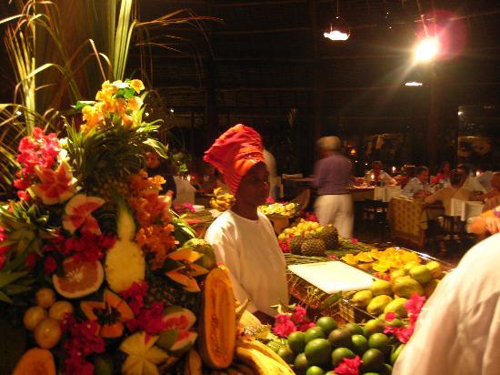 Bwejuu, Tanzania: il ristorante