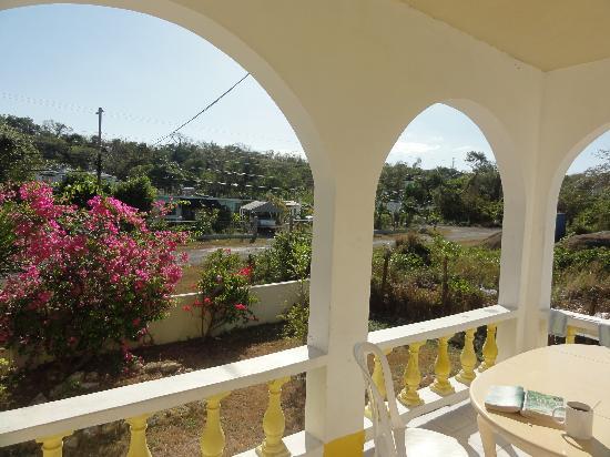 Villa La Cage: View.
