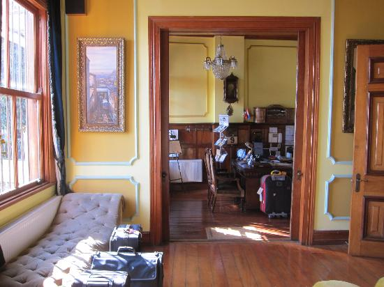 Grand Hotel Gervasoni: Reception area