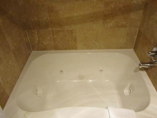 Holiday Inn Express Seattle City Center: suite - big jacuzzi-style tub that easily fits two