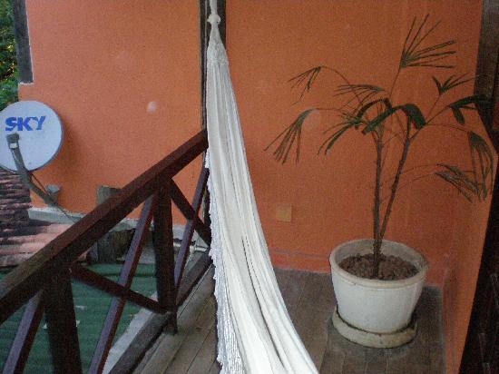 Pousada Bossa Nova: our hammock