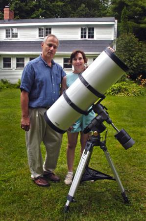 Buttonwood Inn on Mount Surprise: Bill's telescope