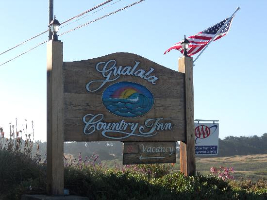 Gualala Country Inn: insegna