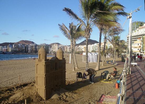 Hotel Faycan : Playa de Las Canteras 2