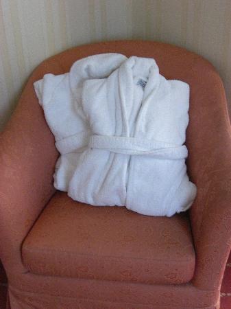 Hotel Spa Termes SERHS Carlemany : Albornoces