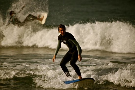 Tamraght, Maroc : I might have been a beginner when I arrived..but by the end I was standing up wooo!!