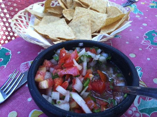 Bip Bip : Fresh Pico and chips