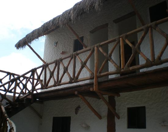 Hotel Casa Lupita: Entrance to room 3 on left and 2 on right